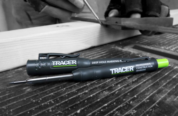 Tracer Pencils in workshop