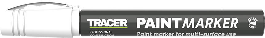 Tracer Paint Mark White APTM2 with lid