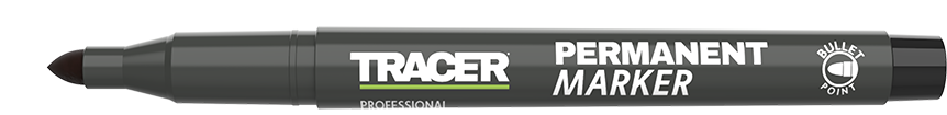 Tracer Permanent Marker Black