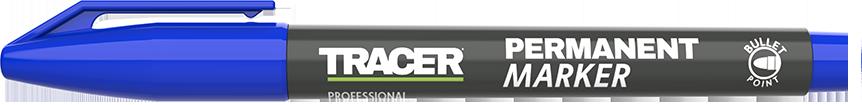 Tracer Permanent Marker Blue lid