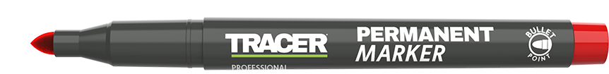 Tracer Permanent Marker Red